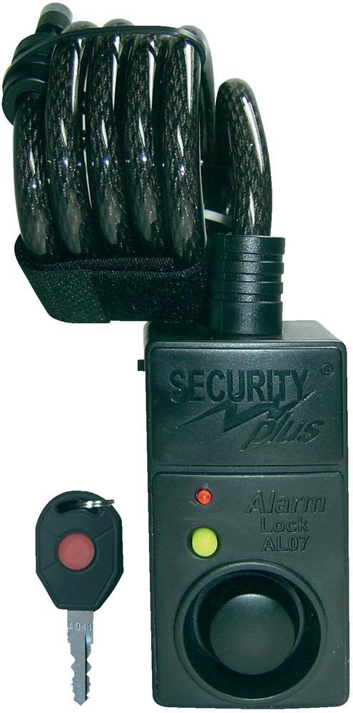 Zámek na kolo s alarmem AL07