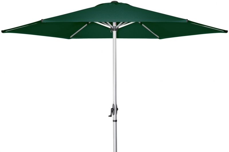 Zahradní slunečník Doppler BASIC PLUS II 300 - Tmavě zelená