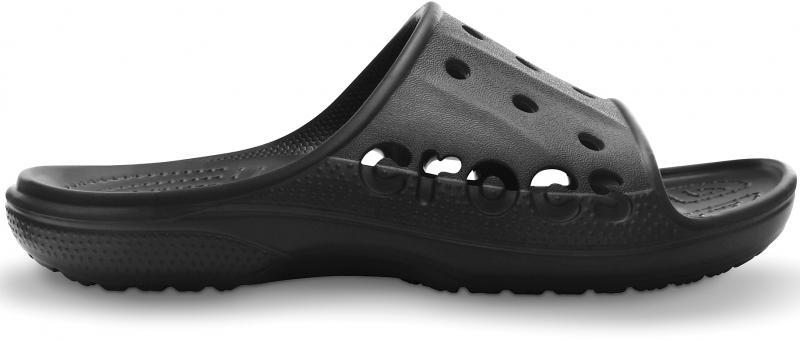 Crocs Baya Slide - Black, Black, M7/W9 (39-40), M7/W9 (39-40)
