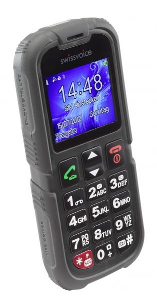 Swissvoice SV39 Outdoor telefon, černý 20600032