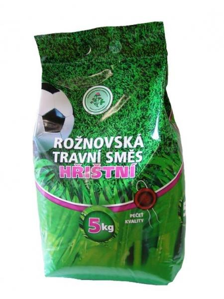 Hřištní travní směs ROŽNOVSKÁ 5kg