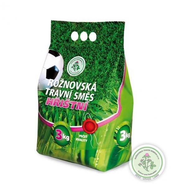 Hřištní travní směs ROŽNOVSKÁ 3kg