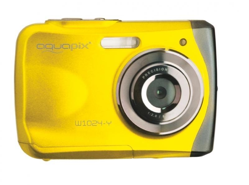 Digitální fotoaparát EasyPix W1024 Splash, vodotěsný 3 m, CMOS 10 Mpx - yellow 10014