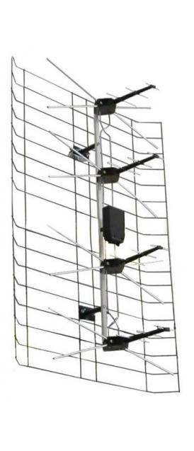TV Anténa ASP-8 - se zesilovačem 35 dB