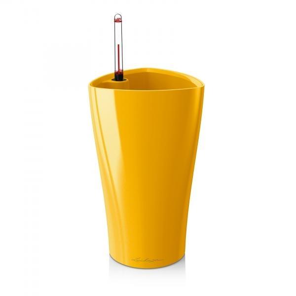 Květináč Lechuza Delta - Žlutá, rozměr 15