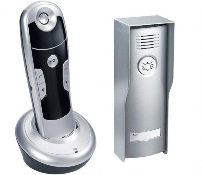 Bezdrátový domovní telefon GEV CAF 87026, ovládání zamku dveří