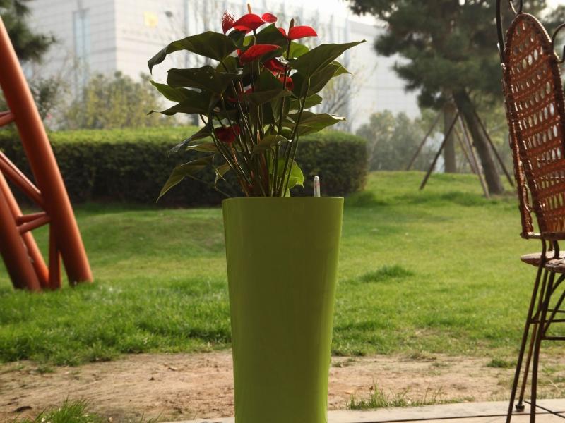 Květináč G21 Trio 29.5 cm - Zelený