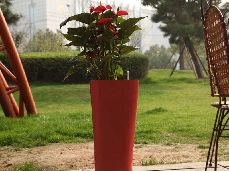 Květináč G21 Trio 29.5 cm - Červený