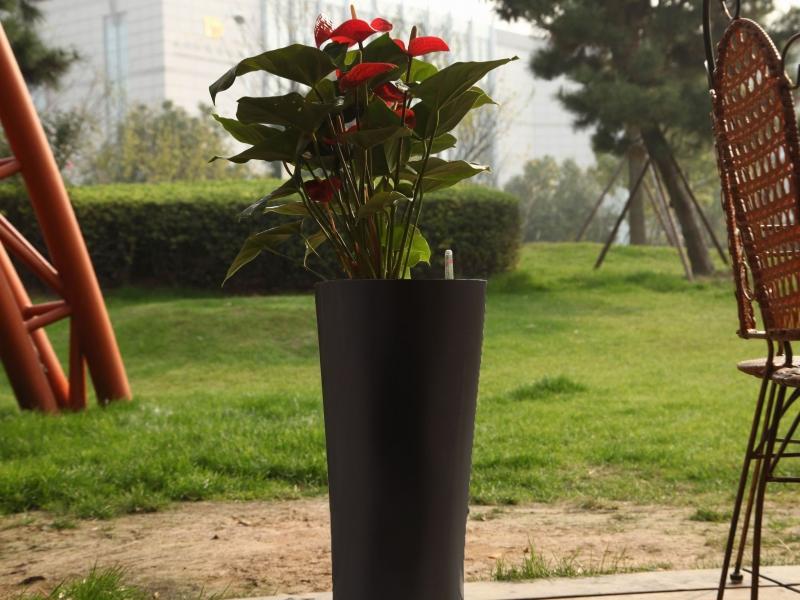Květináč G21 Trio 29.5 cm - Černý