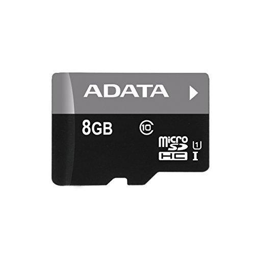 ADATA 8GB Micro SD SDHC class 10/UHS-I Premier AUSDH8GUICL10-R