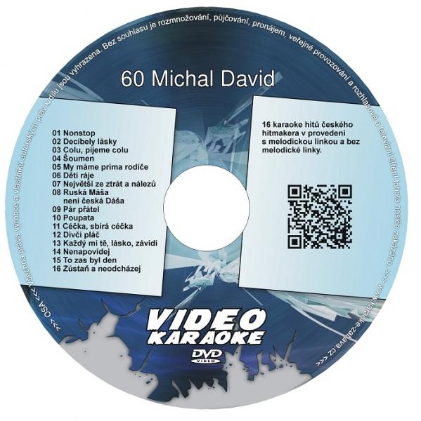 KARAOKE ZÁBAVA: Karaoke DVD 60 Michal David