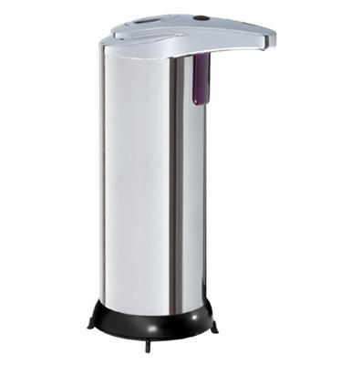 HiMAXX senzorový dávkovač mýdla 250ml, nerez SDMBG0251