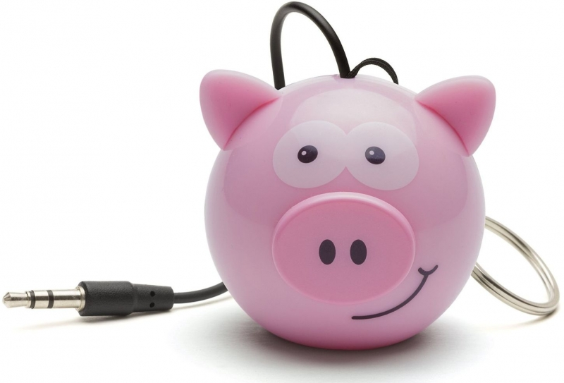 Reproduktor KITSOUND Mini Buddy Pig, 3,5 mm jack KSMBPIG