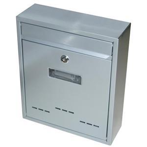 Schránka poštovní G21 RADIM malá 310x260x90mm šedá GA-T20s