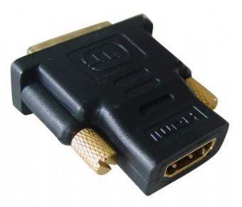 Kabel red. HDMI na DVI, F/M, zlacené kontakty, černá A-HDMI-DVI-2