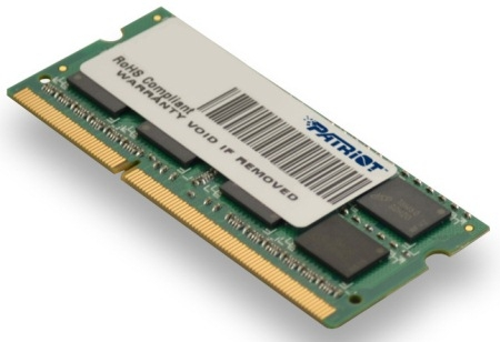 SO-DIMM 4GB DDR3-1600MHz PATRIOT CL11 DR PSD34G16002S
