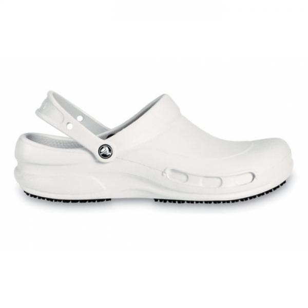 Crocs Work Bistro - White, M5/W7 (37-38)