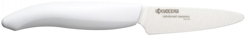 Keramický nůž Kyocera FK-075WH-WH 7,5 cm, - Bílá