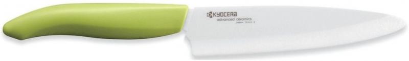 Keramický nůž Kyocera FK-130WH-GR 13 cm, - Zelená