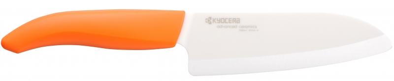 Keramický nůž Kyocera FK-140WH-OR 14 cm, - Oranžová