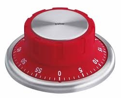 Cilio kuchyňská minutka SAFE červená