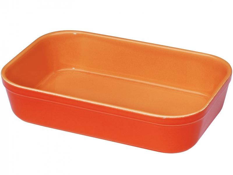 Küchenprofi čtvercová zapékací miska na lassagne, - oranžová