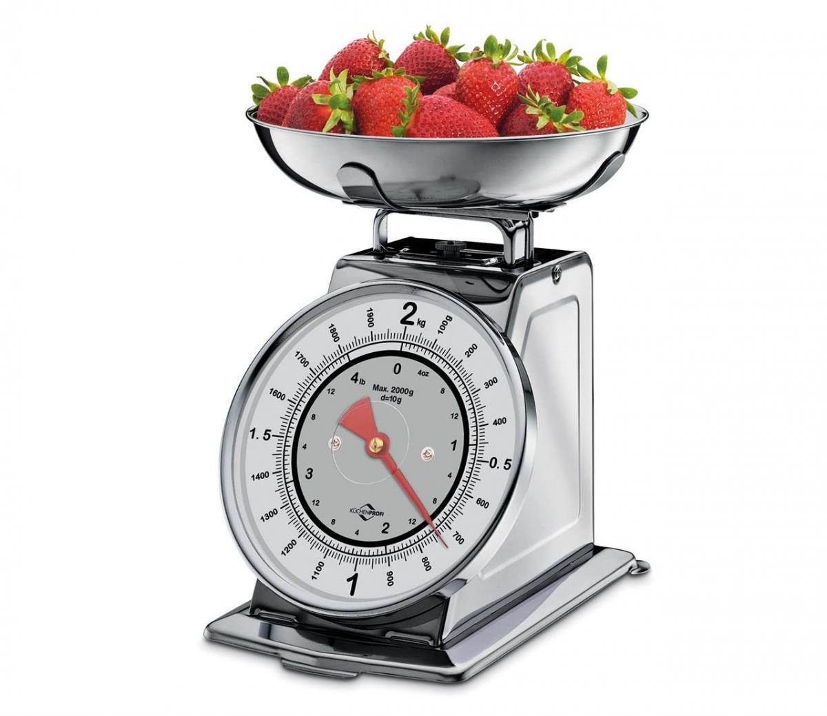 Küchenprofi kuchyňská Retro váha NOSTALGIE, nerezová
