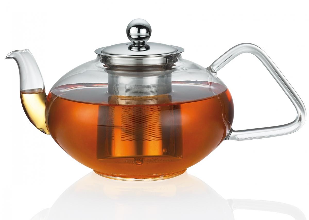 Küchenprofi skleněná konvice na čaj s filtrem, 1200 ml