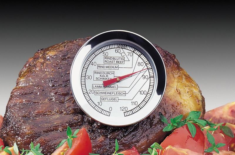 Küchenprofi nerezový teploměr na pečení masa