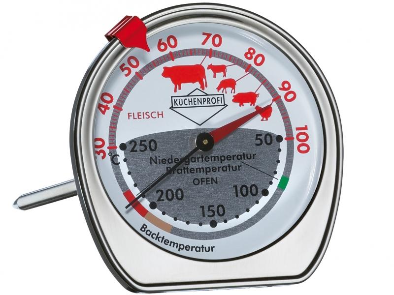 Teploměr pečení i do trouby nerezový - Küchenprofi