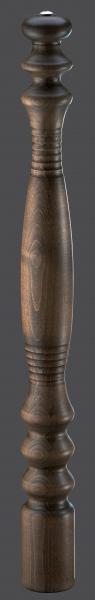 Zassenhaus dřevěný mlýnek na pepř BREMEN, 95cm, tmavě mořený