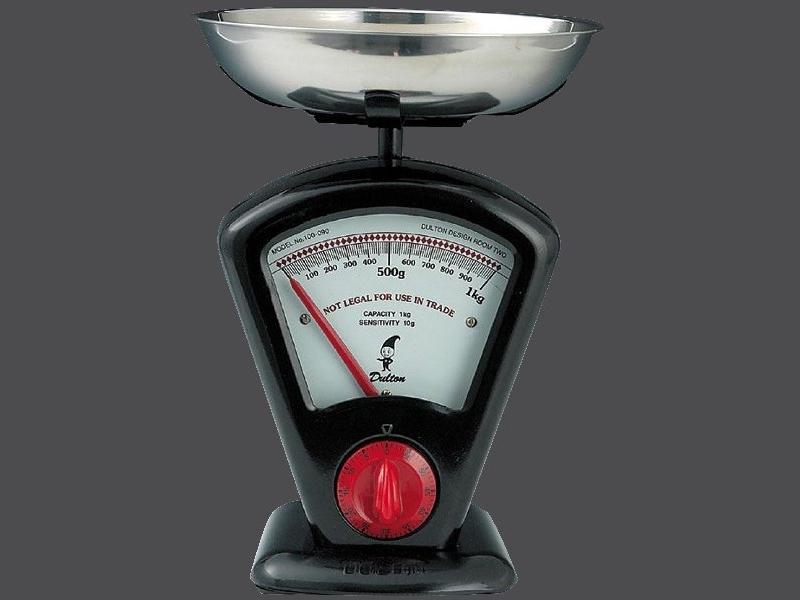 Zassenhaus kuchyňská Retro váha DELTA, - černá