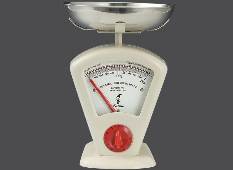 Zassenhaus kuchyňská Retro váha DELTA, - bílá