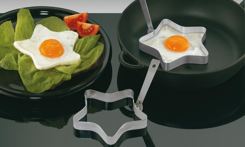 Küchenprofi sada 2 forem na vajíčka HVĚZDA nerezová