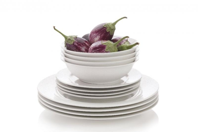 Maxwell & Williams jídelní souprava White Basics sada 12 ks