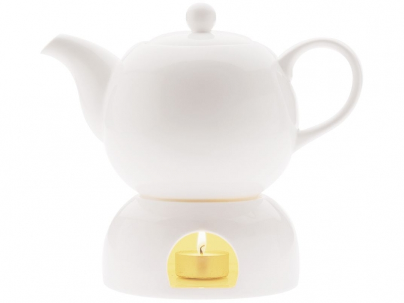 Maxwell & Williams porcelánová konvice White Basics, 1 litr