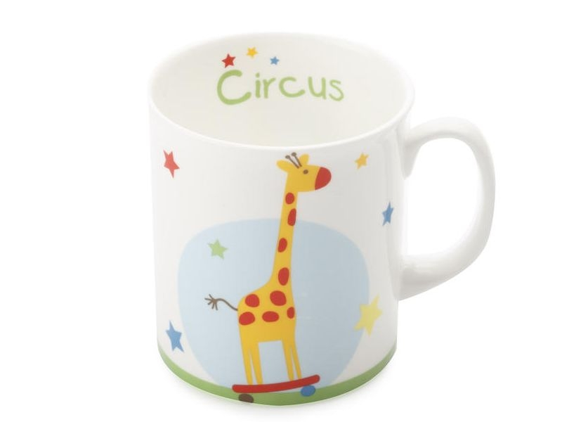 Maxwell & Williams hrneček Giraffe Childrens Circus, 300 ml