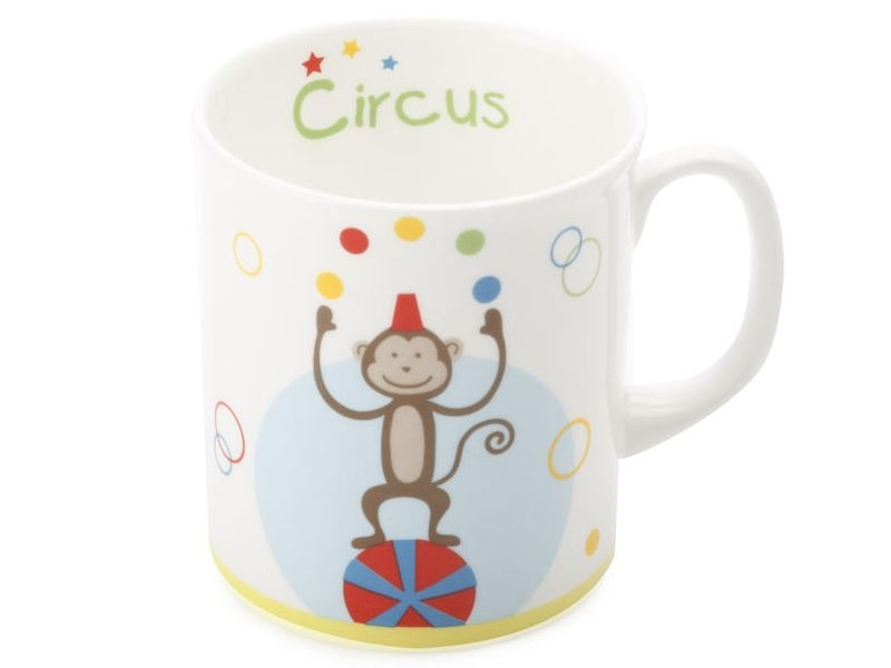 Maxwell & Williams hrneček Monkye Childrens Circus, 300 ml