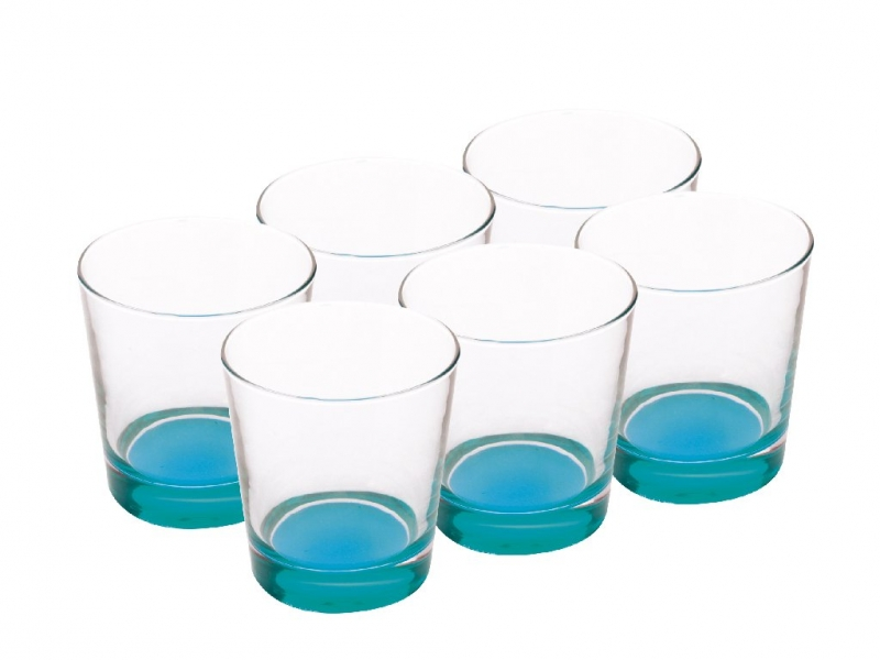 Maxwell & Williams sada sklenic, 340ml, 6ks, - modré