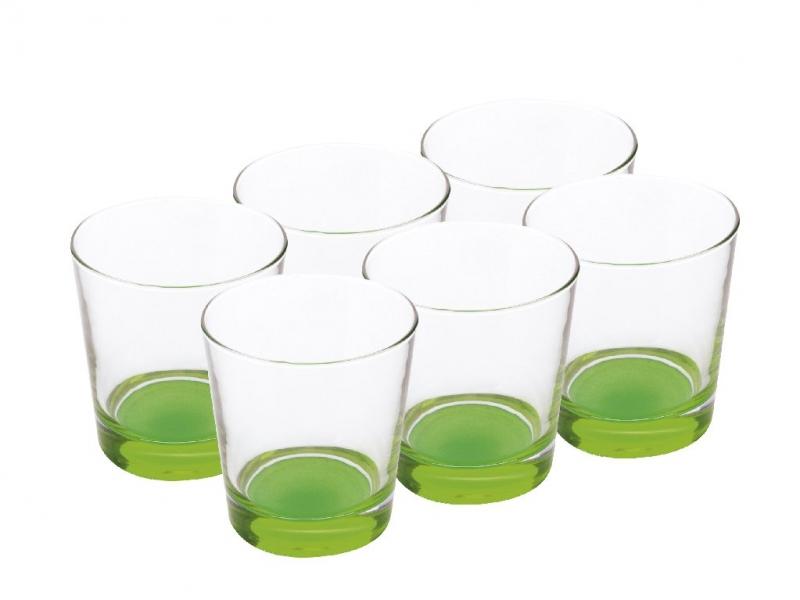 Maxwell & Williams sada sklenic, 340ml, 6ks, - zelené