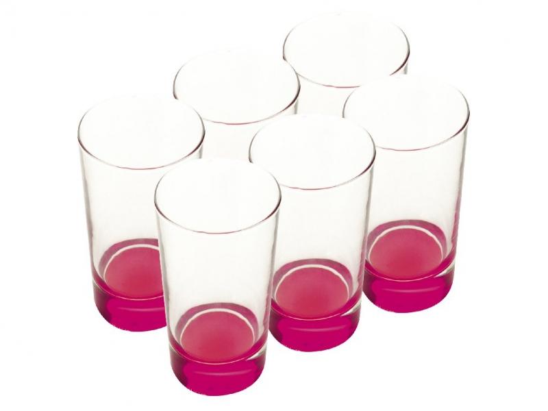 Maxwell & Williams sada sklenic Ball, 460ml, 6ks, růžové