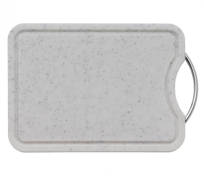 Küchenprofi kuchyňské prkénko se žlábkem, bílé