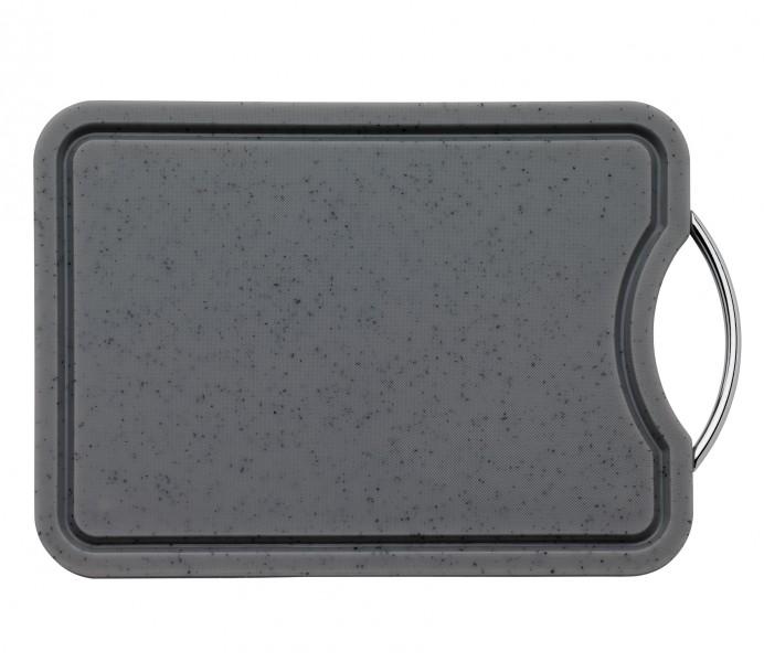 Küchenprofi kuchyňské prkénko se žlábkem, šedé
