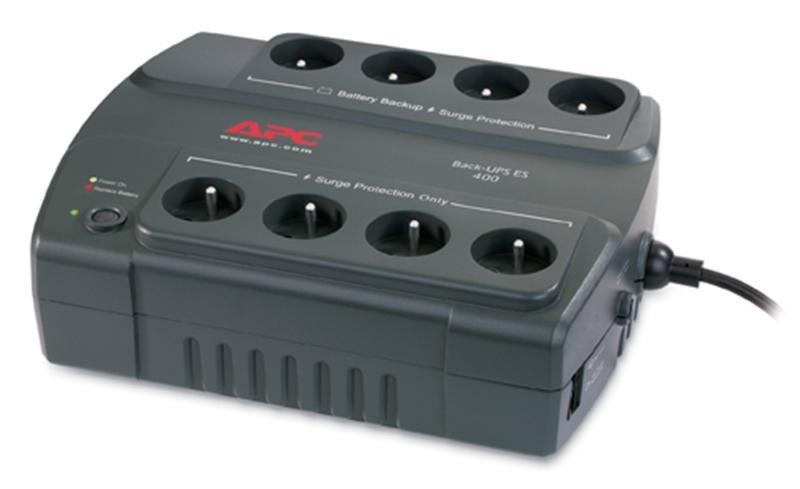 Záložní zdroj APC Back-UPS 400VA (240W), Czech & Poland BE400-CP