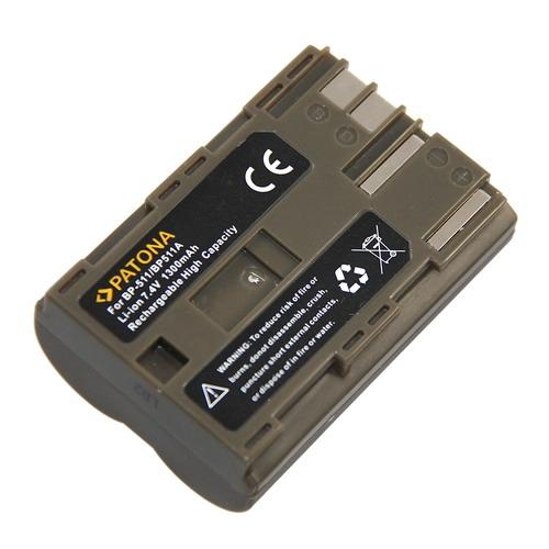 Baterie pro Canon BP-511 1300mAh Li-Ion PT1008