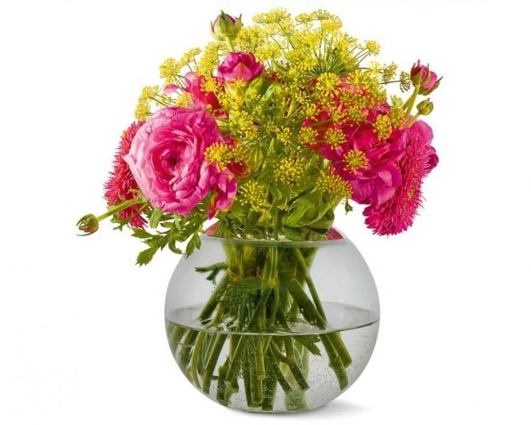 Philippi Globo Swap skleněná váza 3v1