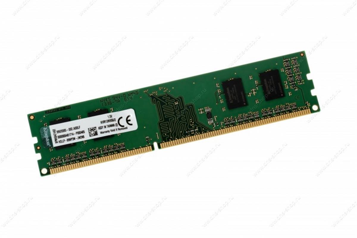 2GB DDR3-1333MHz Kingston CL9 SRx16 KVR13N9S6/2