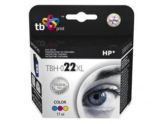 Tříbarevná inkoustová kazeta TB kompatibilní s HP 22XL (HP22XL, HP-22XL, C9352AE) - Alternativní TBH-022XL