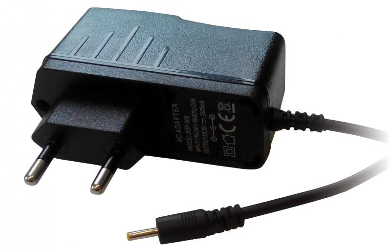 Napájecí adaptér iGET F4 pro tablety EAGET a iGET, 1.5A/5V F4