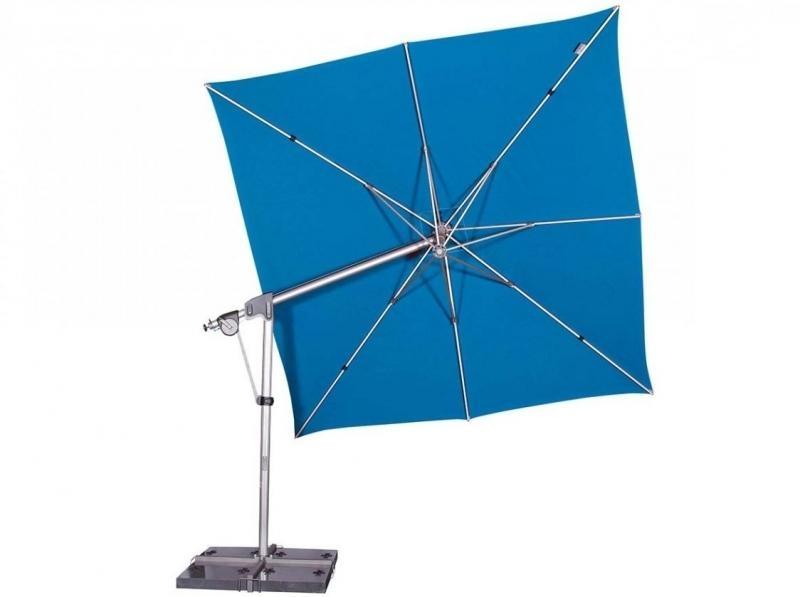 Zahradní slunečník Doppler PROTECT 3x3P 300x300 - Akvarium